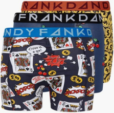 Frank Dandy 3-Pack Gambler/800 mill/Cherry Boxershorts Multicolor