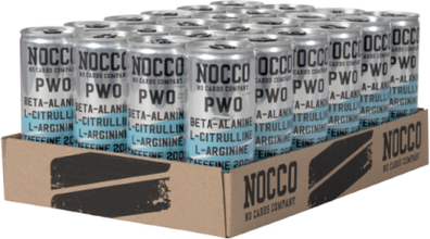 24 x Nocco Pwo, 250 ml, Blue Raspberry