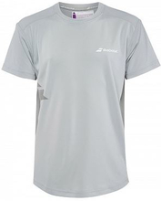 BABOLAT Flag Core T-shirt Grey (XS)
