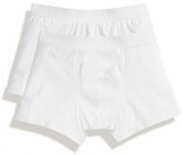 Classic Shorty 2 Pack White