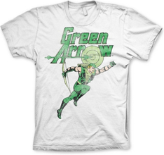 Green Arrow Distressed T-Shirt, Basic Tee