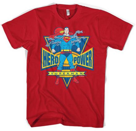 Superman World Hero T-Shirt, Basic Tee