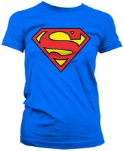 Superman Shield Girly T-Shirt, Girly T-Shirt