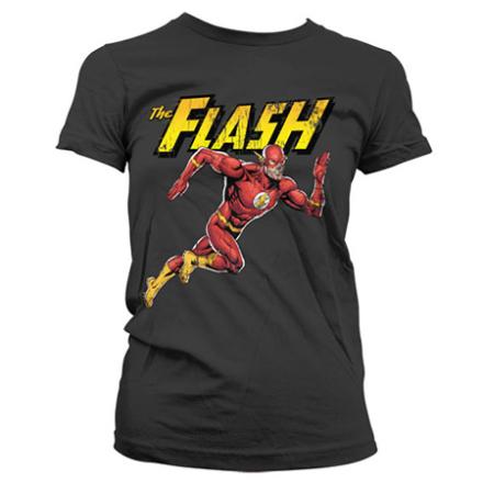 The Flash Running Girly Tee, Girly T-Shirt