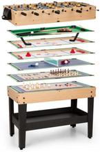 Game-Star Spelbord med 37 Spel Multigame Lagringsfack MDF