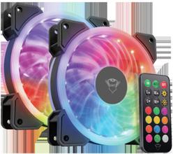 GXT 770 RGB PC Fan 2-pack