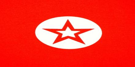 Frottétyg - Stjärna - 150 cm