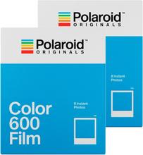 Polaroid Originals Color Film For 600 White Frame 2-Pack , Polaroid Originals