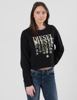 Diesel SIMONA SWEATSHIRT Svart Tröjor/Cardigans till Tjej