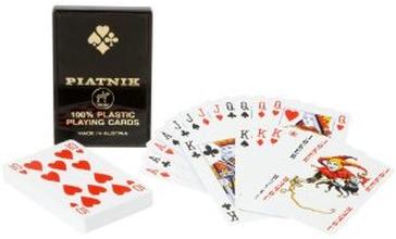 100% Plast spelkort