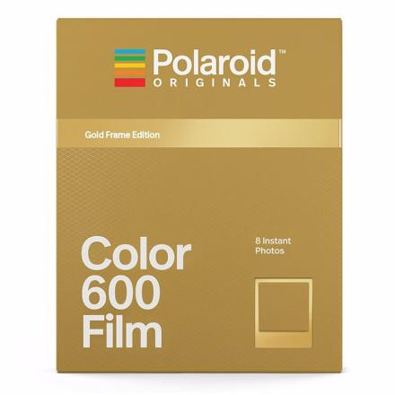 Polaroid Originals Color Film For 600 Metallic Gold Frame, Polaroid Originals