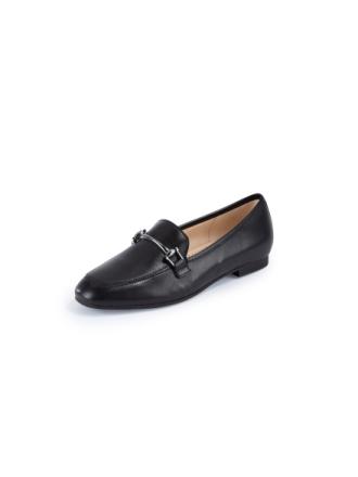 Loafers i äkta läder från Gabor svart