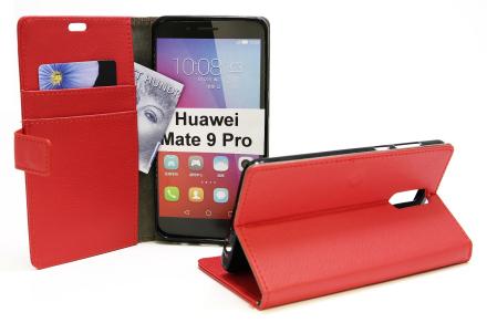 Standcase Wallet Huawei Mate 9 Pro (Röd)
