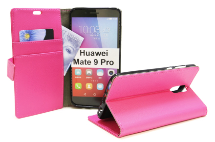 Standcase Wallet Huawei Mate 9 Pro (Hotpink)