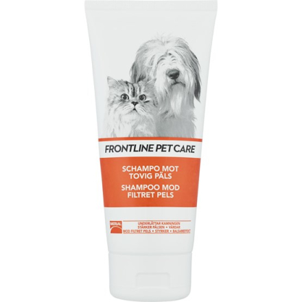 Frontline Petcare Schampo Tovig Päls 200 ml