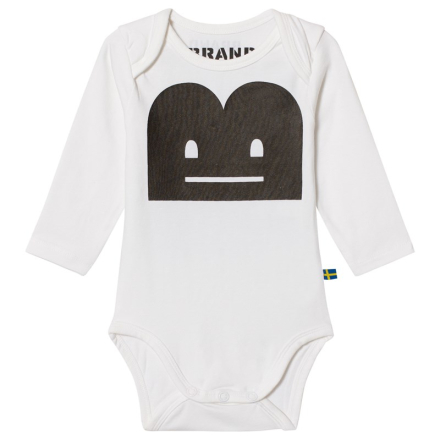 The BRANDBaby Body B-Moji Zzz White92/98 cm