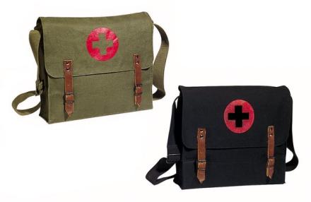 Nato Canvas Medic Bag - Olive