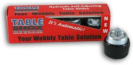 Table Shox självjusterande bordsfötter M10 gänga