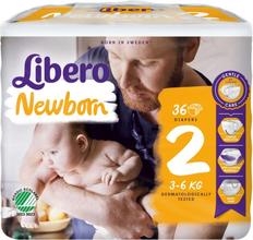 Newborn (2) 3-6kg Blöjor