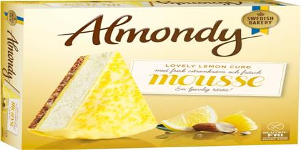 Mousse Lovely Lemon Curd Tårta Fryst
