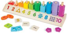 Melissa & Doug, Stapla och räkna former och färger