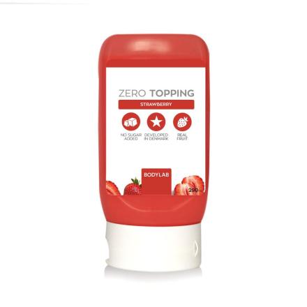 BodyLab Zero Topping Strawberry (290 ml)