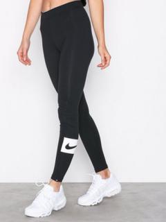 Nike NSW Legging Club Swosh Leggings Svart