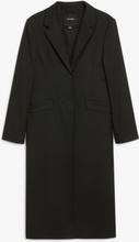 Long blazer coat - Black