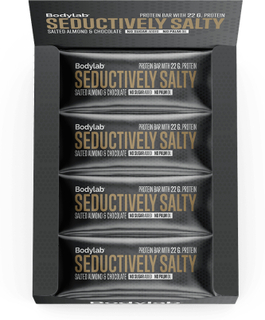 Bodylab Protein Bar (12 x 65 g) - Salted Almonds