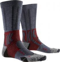 X-Socks wandelsokken Trek Path nylon grijs/rood