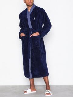 Polo Ralph Lauren Kimono Robe Morgonrockar Navy