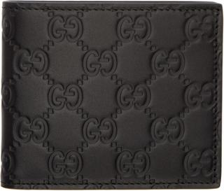 Gucci Black Gucci Signature Wallet