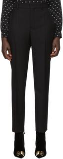 Balenciaga Black Wool Carrot Trousers