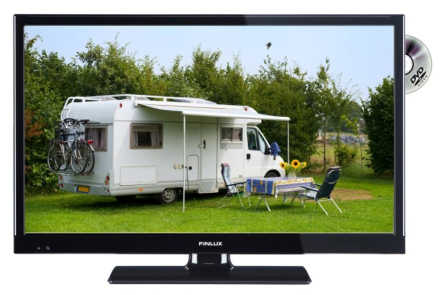 """22"""" FINLUX TV/DVD, 22-FDMC-5161, 12V, SMART"""