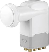 Goobay Universal Octo-LNB Antal mottagare: 8 Matning: 40 mm förgylld anslutning, med switch