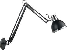 Texa Design Vägglampa Viking Utdragbar-Svart