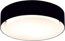 Marset Plaff-On 20 plafondi, musta