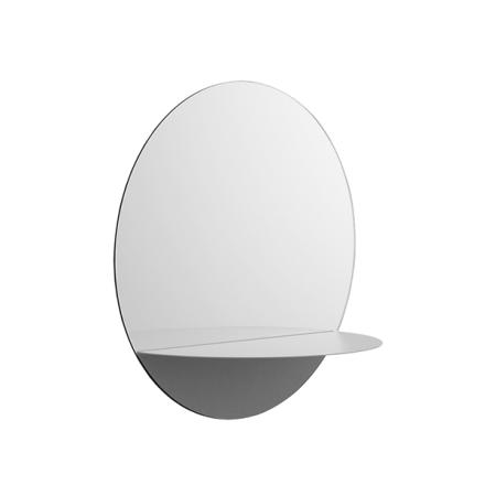 Normann Copenhagen Horizon peili pyöreä, harmaa