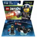 Lego Dimensions - Bad Cop Fra Lego Movie - Fun Pack - Gucca