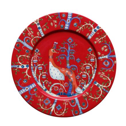 Iittala Taika lautanen 22 cm, punainen
