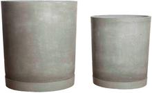House Doctor - Hook Krukker - Grå Cement - 2 stk.