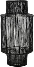 House Doctor - Tabia lanterne i sort - 45 cm