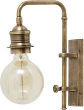 Nordal væglampe i messing - 30 cm høj