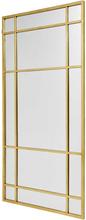 Nordal Spirit spejl i guld - 102x204 cm