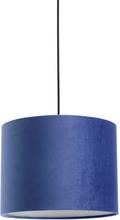 Nordal - Velour lampeskærm i blå
