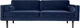 Broste Copenhagen Wind 3 pers. sofa - Insignia Blue