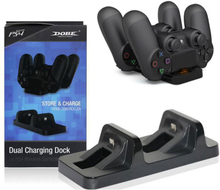 DOBE Sony PlayStation 4 - PS4 controller dual charging dock station