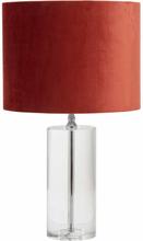 Nordal Clear bordlampe - klar krystalglas