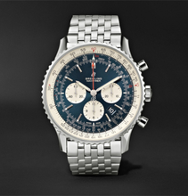 Breitling - Navitimer 1 Chronograph 46mm Steel Watch, Ref. No. Ab0127211c1a1 - Blue