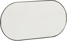 Hübsch knagerække med spejl - sort - 30 cm